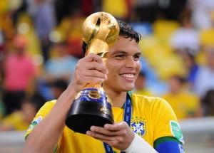 Thiago Silva, capitaine du Brésil il y a quatre ans