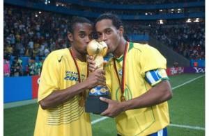 capitaine Ronaldinho en 2005