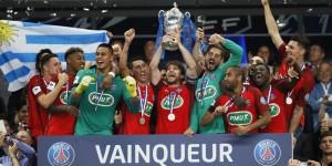 le 31eme trophée, la Coupe de France 2017