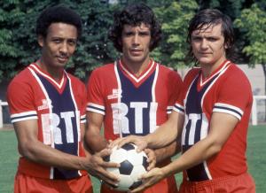 Tokoto, Humberto et Piasecki, le trio parisien recruté en 1975