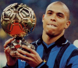 Ronaldo, ballon d'Or avec l'Inter Milan