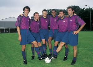1992, 6 recrues pour Paris