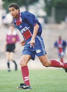 David Trezeguet sous le maillot du PSG