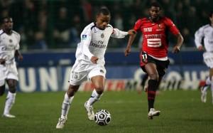 Kalou, capitaine intérimaire contre Rennes en 2007