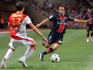 Ludovic Giuly et le PSG battu à Monaco en 2008