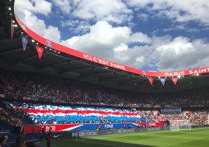 le Parc en fête hier contre Amiens