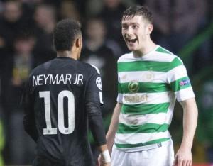 une défaite pour le Celtic de Glasgow... face au PSG