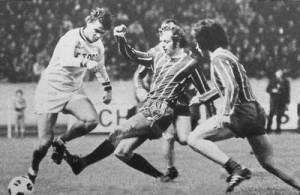 le premier match au Parc des Princes en 1972 contre... l'OM
