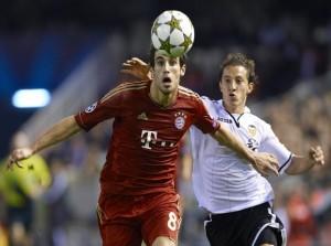 un seul nul pour le Bayern : à Valence en 2012