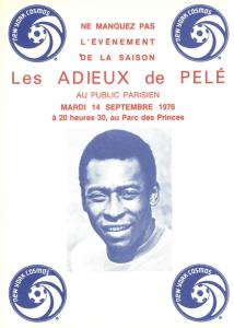 les adieux du Roi Pelé à Paris face au PSG