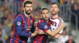 le Bayern et le Barca inséparables...