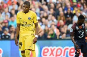 pas de but pour PSG et Mbappé à Montpellier