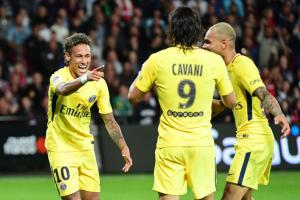 Neymar, buteur à Guingamp pour sa première en L1