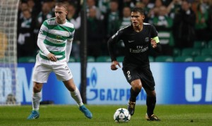 Thiago Silva face au Celtic Glasgow