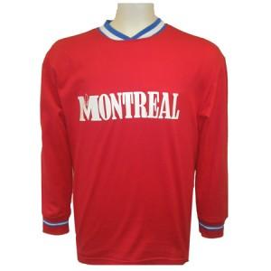 le répliqua du maillot Montréal