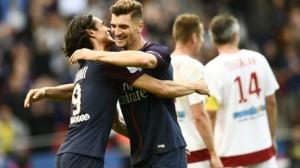 5eme victoire consécutive au Parc en L1 pour le PSG de Cavani et Meunier