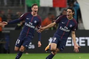 15eme match sans défaite pour le PSG face à l'OM : merci Cavani