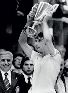 le trophée pour Anderlecht au Parc