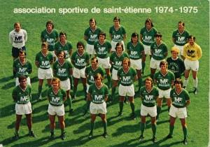 19 victoires à domicile pour Saint-Etienne en 1974-1975 !
