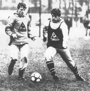 Premier entraînement à Paris face à Luis Fernandez