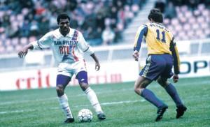 défaite au Parc des Princes pour les débuts de Komboauré au PSG contre Sochaux en 1990