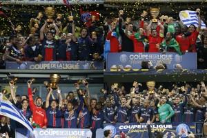 les 4 victoires pour le PSG en coupe de la Ligue avant 2018