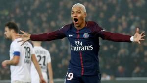 série de 4 matches avec un but en L1 pour Mbappé : déjà dans le top 10 pour Paris
