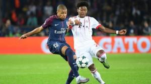 Mbappé face au Bayern lors du succès parisien 3-0