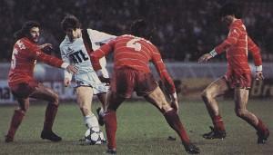 Défaite contre Monaco en 1982 pour le premier match de Susic au PSG