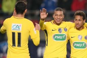 Di Maria, Mbappé et Neymar, les trois héros du match à Rennes