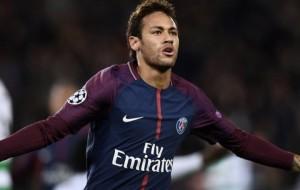 Neymar lors du 8-0 contre Dijon la saison dernière