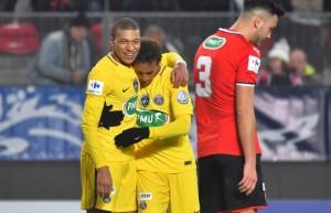 6-1 pour le PSG à Rennes en 2018