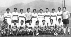 Bastia au début des années 1970, avec les futurs joueurs parisiens Ilija Pantelic et Jean-Pierre Dogliani