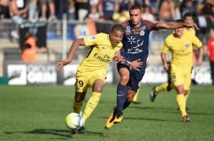 aucun but au match aller entre Montpellier et le PSG