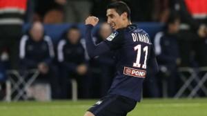 la joie après le but contre Toulouse