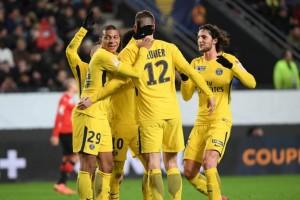 la joie des Parisiens : le cap des 10 buts face à Rennes est atteint