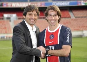 Maxwell, mercato gagnant pour Leonardo avec Alex et Thiago Motta