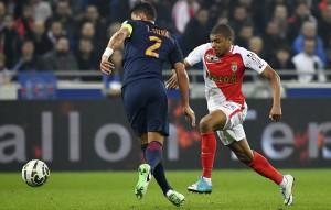Mbappé avec Monaco