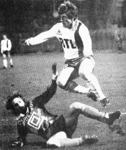 Susic contre Dijon en 1986