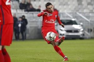 le coup-franc victorieux face à Bordeaux
