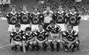 Bordeaux en 1984-1985, 18 victoires et un nul...