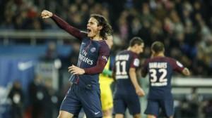 Cavani, meilleur buteur face à Nantes à égalité avec Ibrahimovic