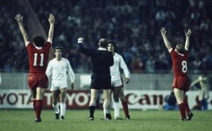 1981, le Real vaincu par Liverpool en finale