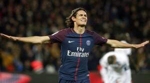 la joie de Cavani contre Dijon lors du 8-0, record au Parc des Princes