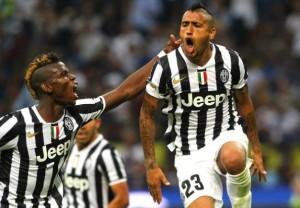 19 victoires en 19 matches pour la Juventus de Pogba et Vidal en 2013-2014
