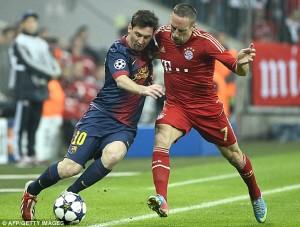 le PSG fait mieux que le Barca de Messi et le Bayern de Ribery