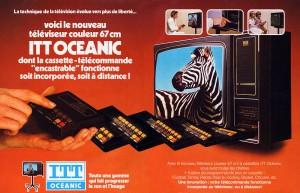 une publicité à la gloire d'ITT Oceanic