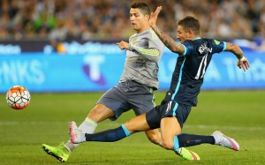 le Real Madrid et Manchester City dauphins de Paris