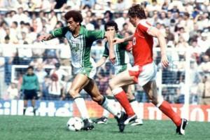 Assad avec l'Algérie lors de la Coupe du monde 1982