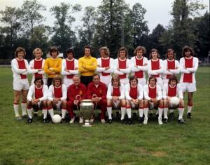 Pluie de trophées avec l'Ajax